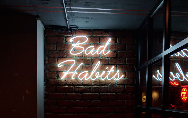 Help! I Can't Stop My Bad Habits